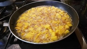 mango chutney add liquid ingredients