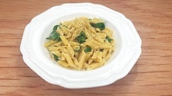 low sodium spinach Alfredo recipe