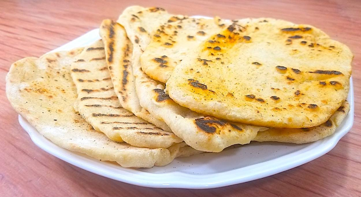 Low sodium flatbread recipe