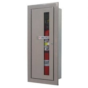 Fire Extinguisher & Cabinets