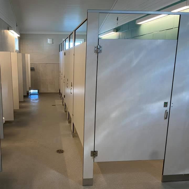 Ogunquit Main Beach Bathhouse Toilet Partitions