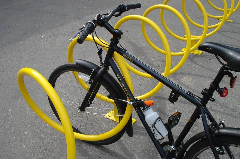 Helix Bike Racks