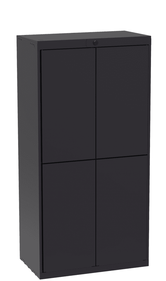 Luxer Locker System - Four Door Unit Indoor