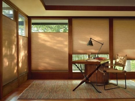 hunter douglas home office shades