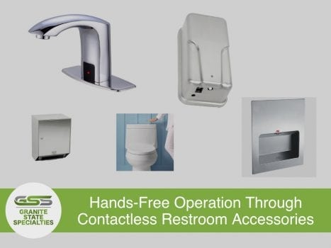 Contactless Restroom Accessories Photo