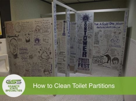 Photo of Graffiti on Toilet Partitions