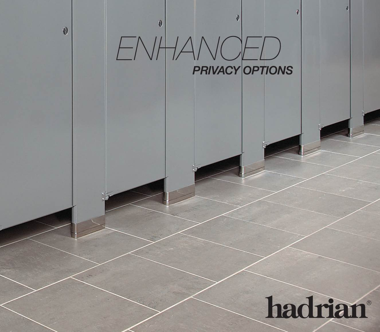Hadrian Toilet Partitions