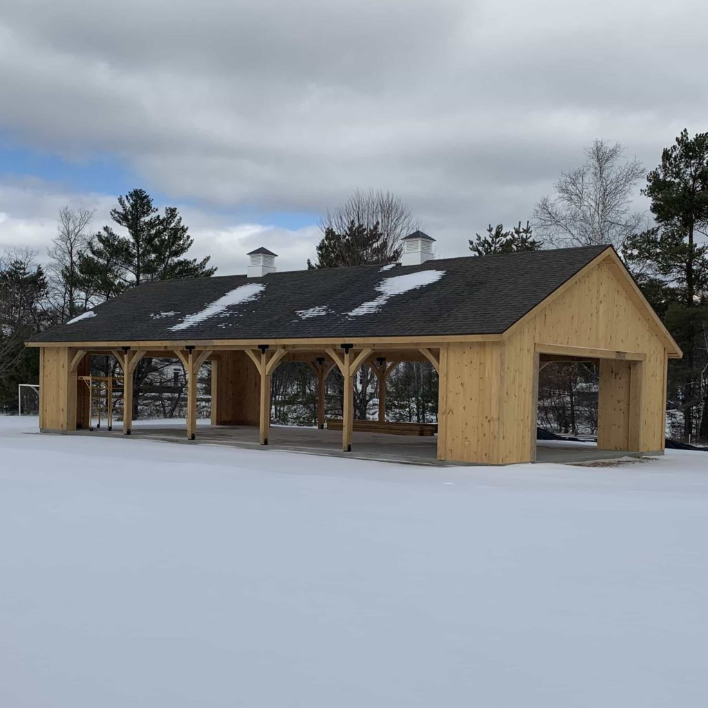 Photo of a Pavilion in Franconia, NH